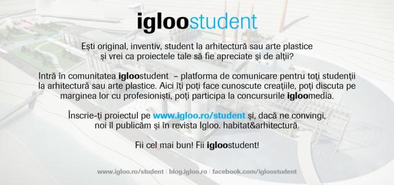 Intra in comunitatea igloostudent!