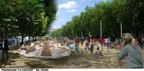 Noul proiect al zonei centrale din Bucuresti, in valoare de 200 de milioane de euro, va fi prezentat in cadrul LAUD 2014