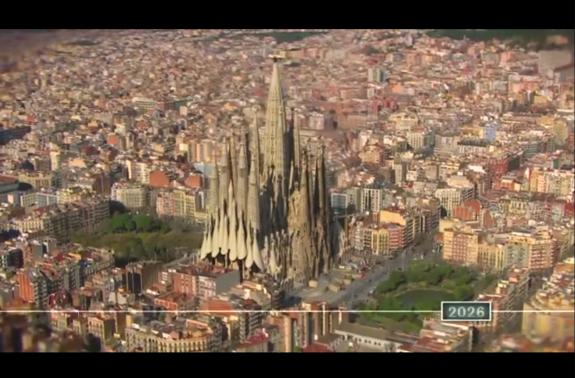 Video: Cum va arata Sagrada Familia in 2026