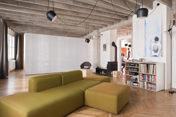 Apartament open space in centrul orasului Bratislava