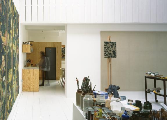 Casa si studio pentru un pictor