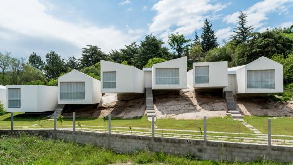 Cinci case. Cordoba, Argentina