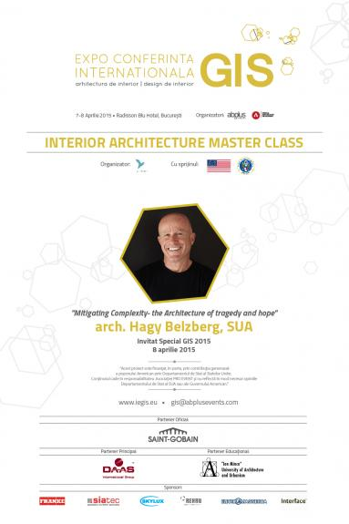 Arhitecti si antreprenori proeminenti din 10 tari deschid anul arhitectural 2015 la GIS Bucuresti