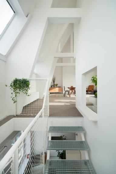 Duplex in Amsterdam, Olanda