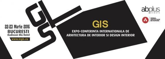 GIS - cel mai important forum de arhitectura de interior din Europa de Est,  organizat la Bucuresti cu participarea arhitectilor din 15 tari si a  Consiliului European al Arhitecti