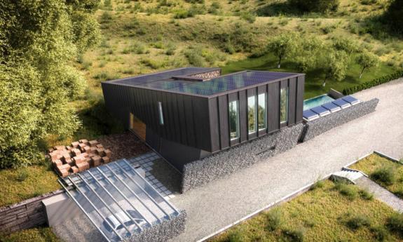 Casa in Norvegia ce va produce dublul energiei consumate