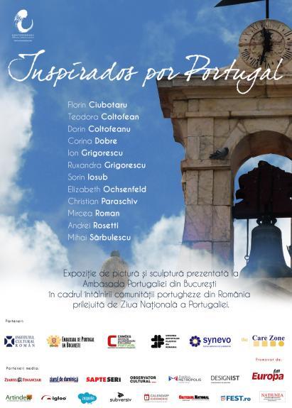 """Inspirados por Portugal"" - Expozitie Contemporanii la Ambasada Portugaliei din Romania"