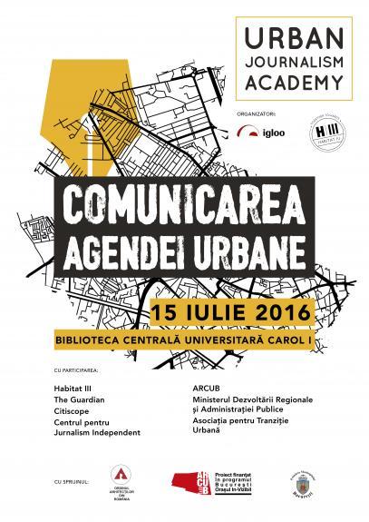 Igloo Media aduce la Bucuresti Academia de Jurnalism Urban: Comunicarea Agendei Urbane