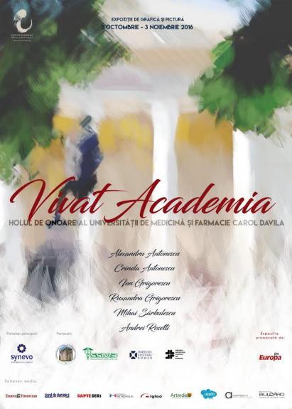 Expozitia Vivat Academia la UMF Carol Davila