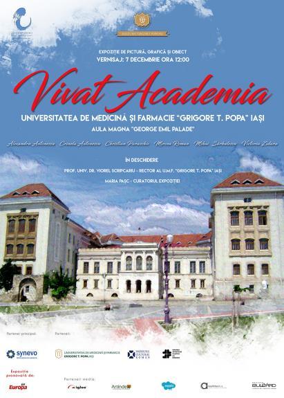 "Expozitia ""Vivat Academia"" la UMF ""Grigore T. Popa"""