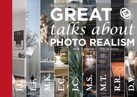 Great Talks about Photo Realism: Cartea care uneste comunitatile Archviz de pretutindeni