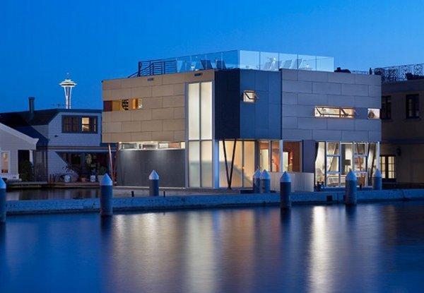 casa plutitoare