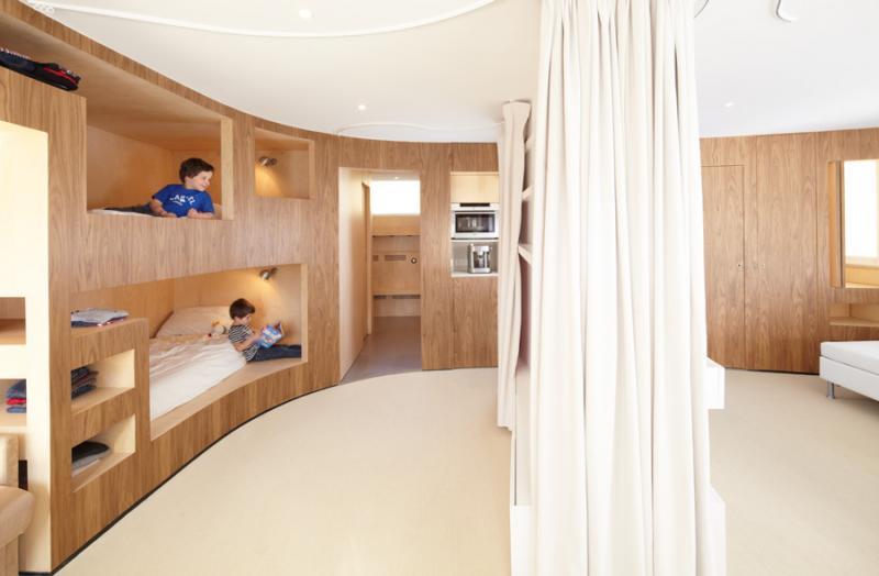Reinterpretarea Apartamentului Cabana Amenajari Interioare Design Interior