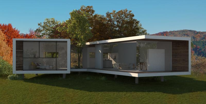 Casa pasiva V2 - Case de Vacanta