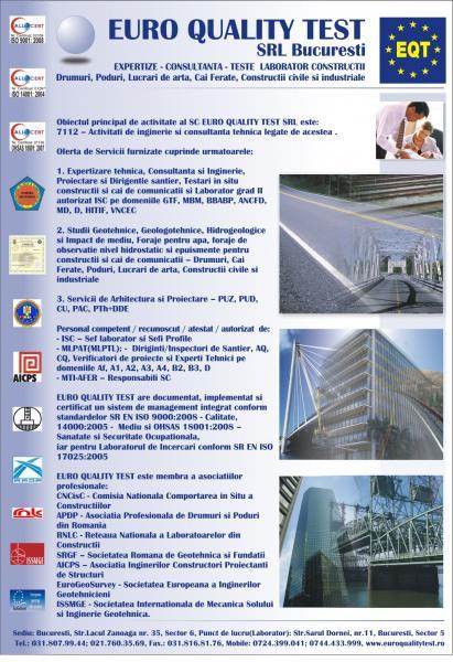 Expertize Consultanta Teste Laborator Constructii