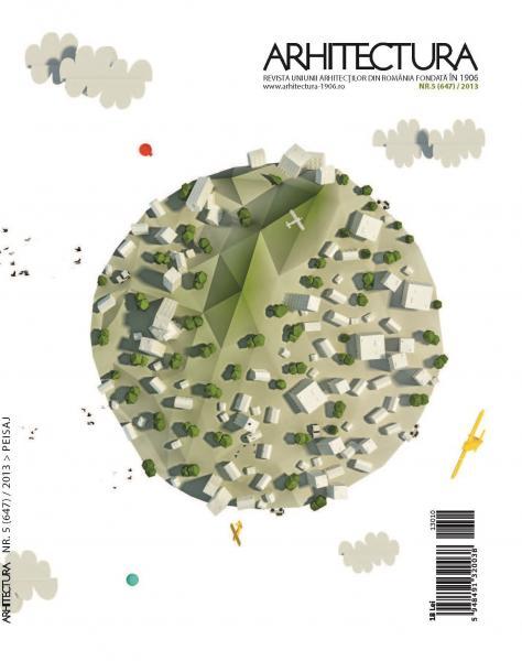 ARHITECTURA numarul 5/2013: PEISAJ